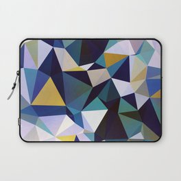 Abstract Geometric Triangle Pattern Laptop Sleeve