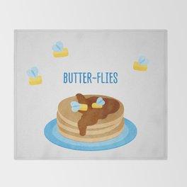 Butter-Flies Throw Blanket