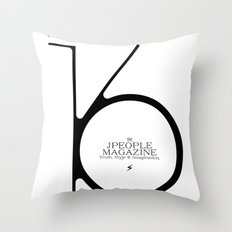 Jpeople Magazine 16 / Truth, Style & Imagination Throw Pillow