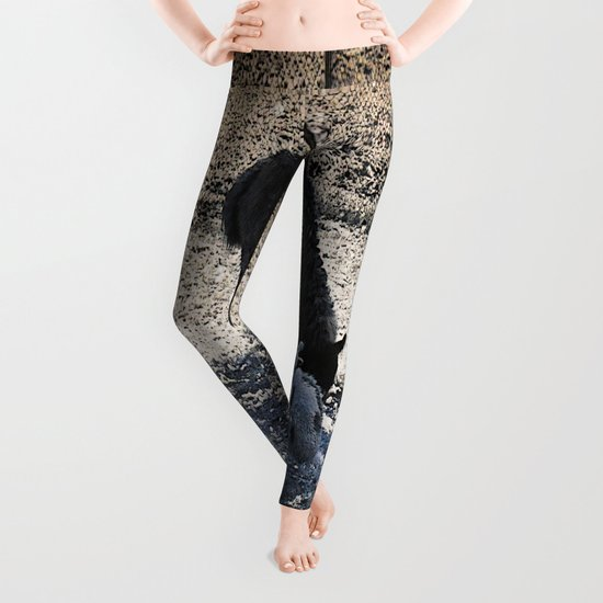 The Story of the Goat, the Llama, and the Sheep Leggings