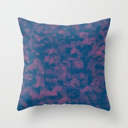 Isometric Grid No. 1  Throw Pillow
