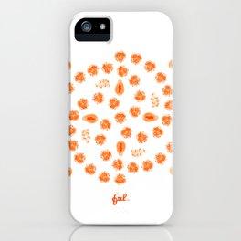 Kiwano, Papaya & Gooseberry • Mandala iPhone Case