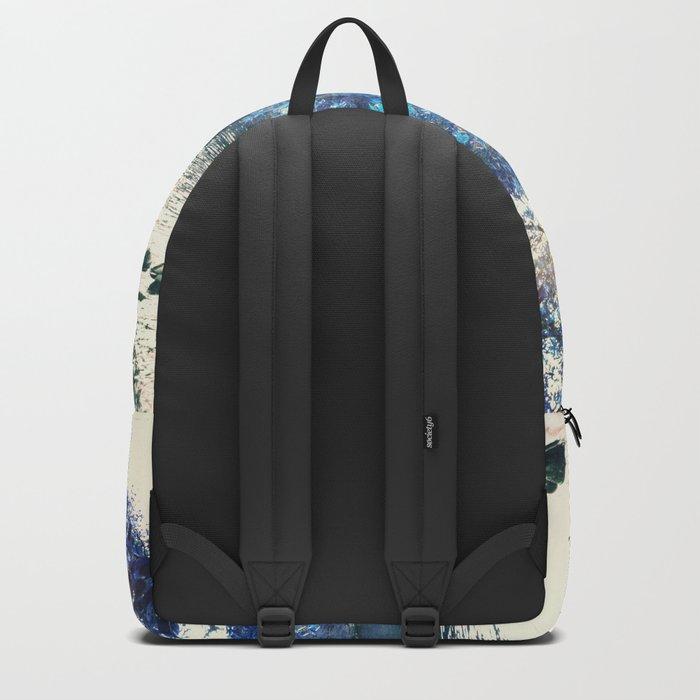 Hope in blue Backpack