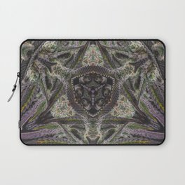 Purple Black Lime #2 Laptop Sleeve