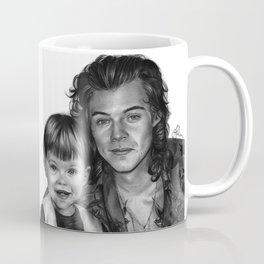 Harry Styles x2 Pencil Drawing by Annasartwork Coffee Mug