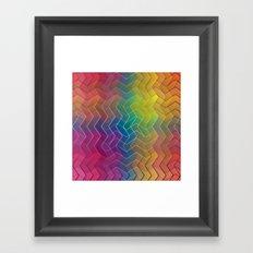 Zigzag & Zigzag 6 Framed Art Print