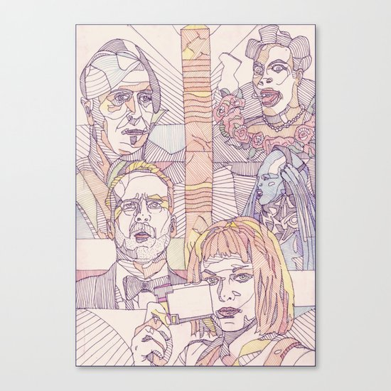The Fifth Element Canvas Print