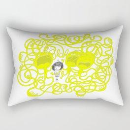 Blah, Blah, Blah Rectangular Pillow