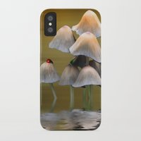 mushrooms iPhone & iPod Cases featuring Mushrooms by Shalisa Photography