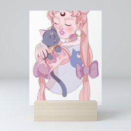 Punk Usagi Mini Art Print