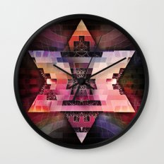 Cherub Under the Microscope: 6 Wall Clock