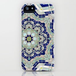Looking Up Dome Mandala iPhone Case