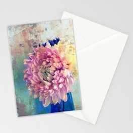 Vivid Blue and Pink Stationery Cards