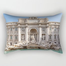 Trevi Fountain at early morning - Rome, Italy Rectangular Pillow