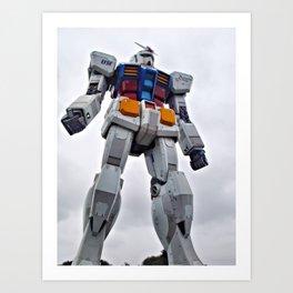 Mobile Suit Gundam Art Print