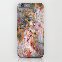 Rainbow Marble 1 iPhone Case