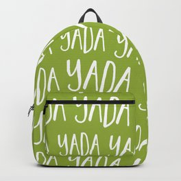 Yada Yada Yada Backpack
