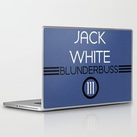 jack white Laptop & iPad Skins featuring Jack White by Tanner Wheat