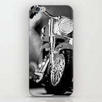 motorbike iPhone & iPod Skins featuring Motorbike-B&W by Yar's Photography