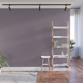 Valspar America Classical Violet Dark Pastel Purple 4001-4B Solid Color Wall Mural