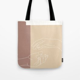 Let Go. Tote Bag