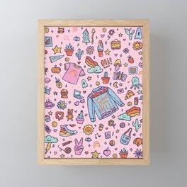 All the Fun Things Framed Mini Art Print