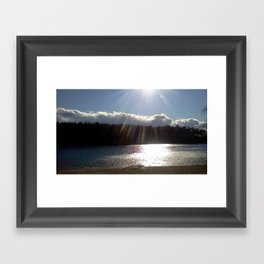 Blue Hill Framed Art Print