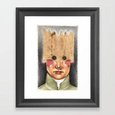 The Future King Framed Art Print