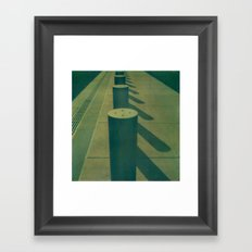 Abstract Road Framed Art Print