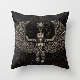 Isis Egyptian Goddess Throw Pillow