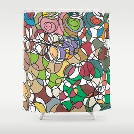 Finding the Path Shower Curtain