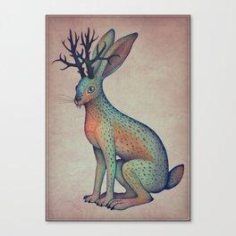 Jackalope Canvas Print