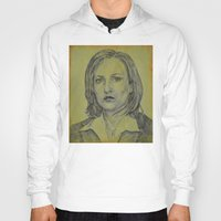 dana scully Hoodies featuring Scully by Jenn