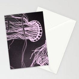 Jelly Swim Stationery Cards