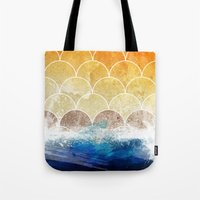 scales Tote Bags featuring Scales by Michael Scott Murphy