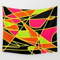 art deco Wall Tapestries featuring DECO by ....