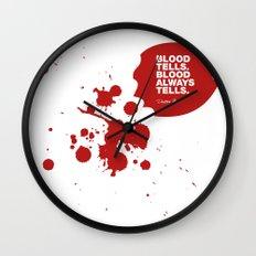 Dexter no.4 Wall Clock