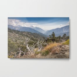 Inspiration Point along Pacific Crest Trail Metal Print