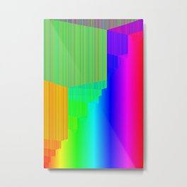 R Experiment 5 (quicksort v3) Metal Print