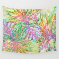 florida Wall Tapestries featuring Florida Feeling by Sand Salt Moon