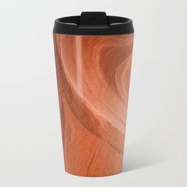 Antelope Canyon Reddish And Blue Tones Travel Mug