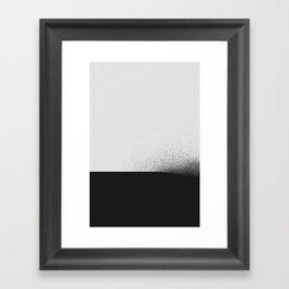 black 00 (edited) Framed Art Print