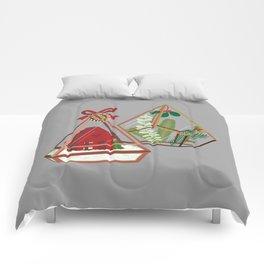 Geometric Terrarium Comforters