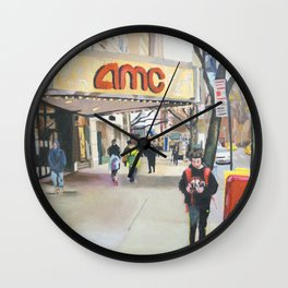 84th street Wall Clock