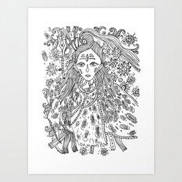 Young Shiva Art Print