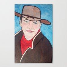 Young John Wayne Canvas Print