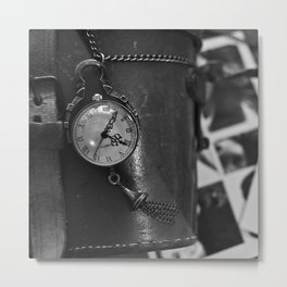 Fob Watch Metal Print