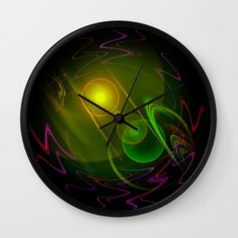 Abstract in perfection - Space Wall Clock
