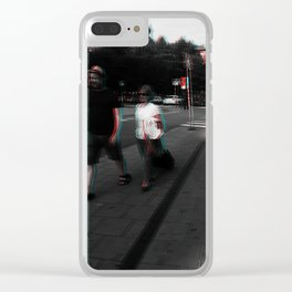 where are on our way!!! Clear iPhone Case