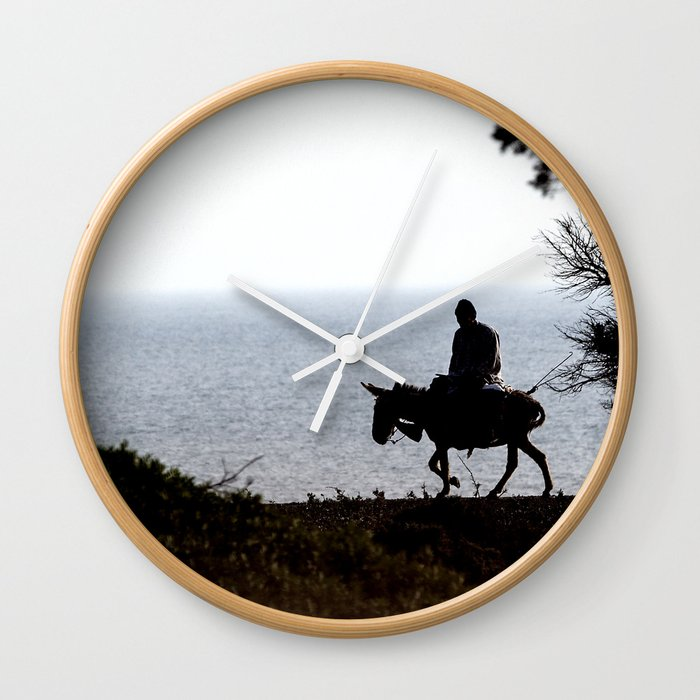 Night Rider Jackass Wall Clock